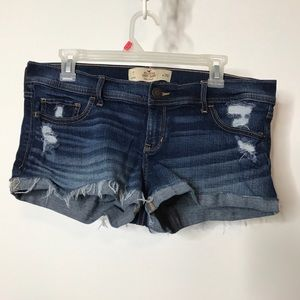Hollister Short-Short Low Rise Denim Shorts 11